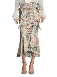 Zimmermann - Cavalier Strapped Floral Skirt at Saks Fifth Avenue