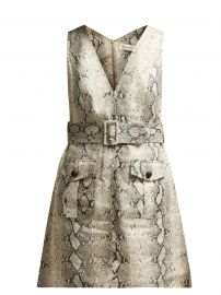 Zimmermann Corsage Python Dress at Matches