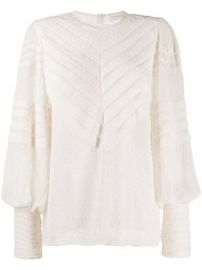 Zimmermann Embroidered Detail Blouse - Farfetch at Farfetch