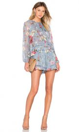 Zimmermann Havoc Floating Layer Playsuit in Floral from Revolve com at Revolve