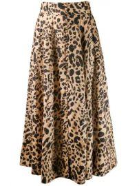 Zimmermann Leopard Print Skirt - Farfetch at Farfetch