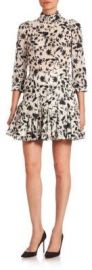 Zimmermann Master Embroidered Tuck Dress at Saks Fifth Avenue
