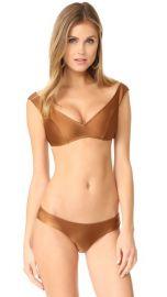 Zimmermann Tulsi Off Shoulder Bikini Set at Shopbop