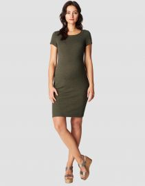 Zinnia Ribbed Shift Dress Noppies at Mine for Nine