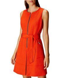 Zip Front Dress by Karen Millen at Bloomingdales
