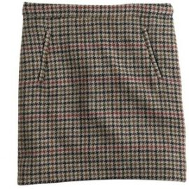 Zip PockeT Mini Skirt in Tweed at J. Crew