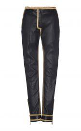 Zipper Cuff Pant by Roberto Cavalli at Moda Operandi