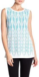 Ziri Sleeveless Top by St. John at The Talk