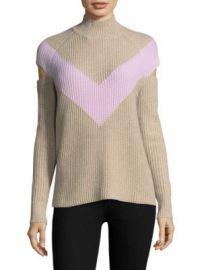 Zo   Jordan - Graham Chevron Sweater at Saks Fifth Avenue
