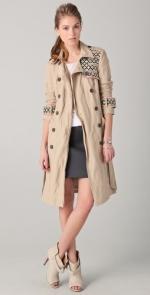 Zoe Hart's Gryphon Trench coat at Shopbop
