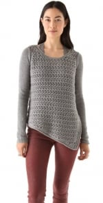 Zoe Hart's Helmut Lang knit sweater on Hart of Dixie at Shopbop