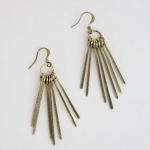 Zoe Hart's gold earrings at Design Spark