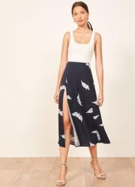 Zoe Sparrow Skirt by Reformation at Reformation