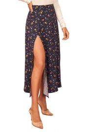 Zoe Split Skirt in Cecile by Reformation at Nordstrom