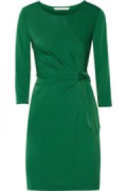 Zoe stretch-jersey dress at The Outnet
