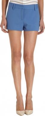 Zoes blue shorts at Barneys at Barneys