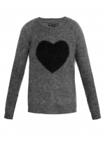 Zoes heart sweater at Matches at Matches