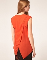 Zoe's orange top at ASOS at Asos