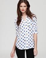Zoes shirt in white at Bloomingdales at Bloomingdales