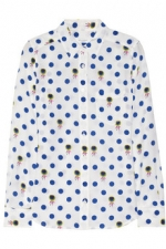 Zoes shirt in white at Net a Porter at Net A Porter