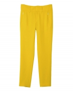 Zoes yellow pants at Rag and Bone