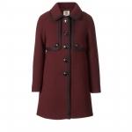 Zooey's Orla Keily coat at Orlakiely