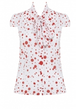 Zuzu blouse by Alice and Olivia at Alice + Olivia