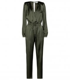 Zyana stretch-silk jumpsuit at Mytheresa