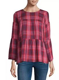 a.n.a 3/4th Sleeve Round Neck Woven Blouse at JCPenney