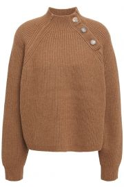 acne studios Ribbed wool-blend turtleneck sweater at The Outnet