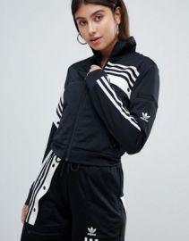 adidas Originals X Danielle Cathari Deconstructed Track Top In Black at asos com at Asos