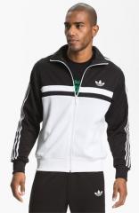 adidas Originals adi-Icon Track Jacket in black at Nordstrom