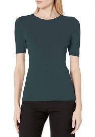 ahari ASL Womens Crew Neck Short Sleeve Sweater at Amazon