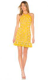 aijek Marianna Halter Dress in Yellow from Revolve com at Revolve