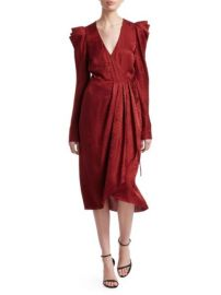 alc CAROLINA WRAP DRESS at Saks Fifth Avenue