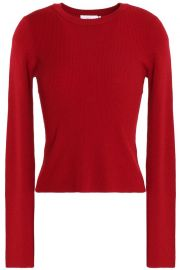 alc Ribbed merino wool-blend sweater  at The Outnet
