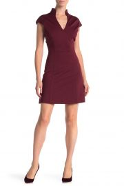 alexa admor V-Neck Solid Knit Dress at Nordstrom Rack