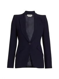alexander mcqueen One-Button Jacket at Saks Fifth Avenue