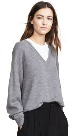 alexanderwang t Bi-Layer V Neck Sweater at Shopbop