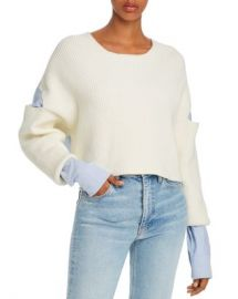 alexanderwang t Layered-Look Cutout Combo Top Women - Bloomingdale s at Bloomingdales