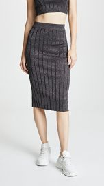 alexanderwang t Metallic Skirt at Shopbop