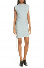 alexanderwang t Tie Ruched Jersey Minidress   Nordstrom at Nordstrom