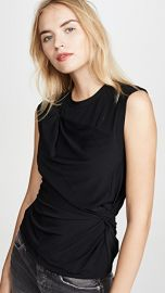 alexanderwang t Twisted Crepe Jersey Top at Shopbop
