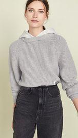 alexanderwang t Utility Hoodie Sweater at Shopbop