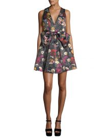 alice olivia daralee dress at Neiman Marcus