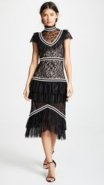 alice   olivia Annetta Ruffle Dress at Shopbop