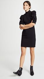 alice   olivia Brenna Puff Sleeve Dress at Shopbop