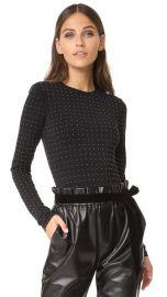 alice   olivia Britney Studded Bodysuit at Shopbop