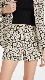 alice   olivia Cady Clean Shorts at Shopbop