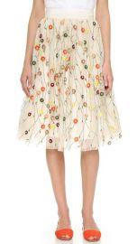 alice   olivia Catrina Embellished Skirt at Shopbop